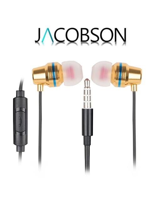 Jacobson JK-4 İos ve Android Uyumlu Mikrofonlu Kulaklık Altın